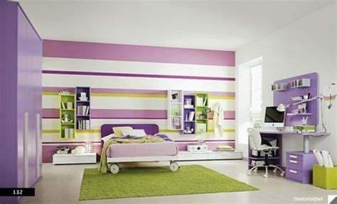 i love the purple striped wall bedrooms pinterest purple n green striped accent wall bedroom dreams