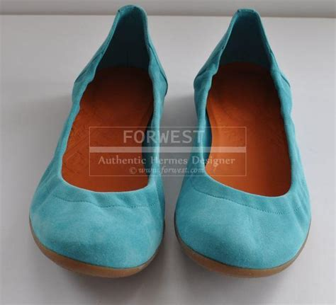 amazing flat shoes preowned amazing hermes balleries flat shoes 39 5