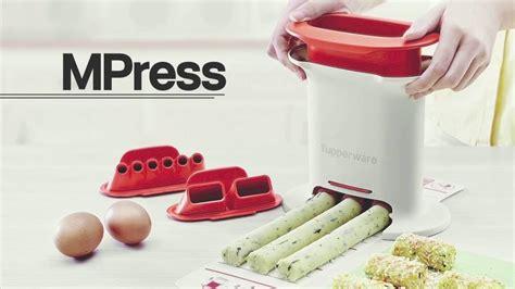 Tupperware Mpress Pencetak Adonan tupperware m press