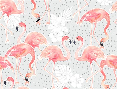 flamingo wallpaper on love it or list it you ll love these flamingo designs spoonflower blog