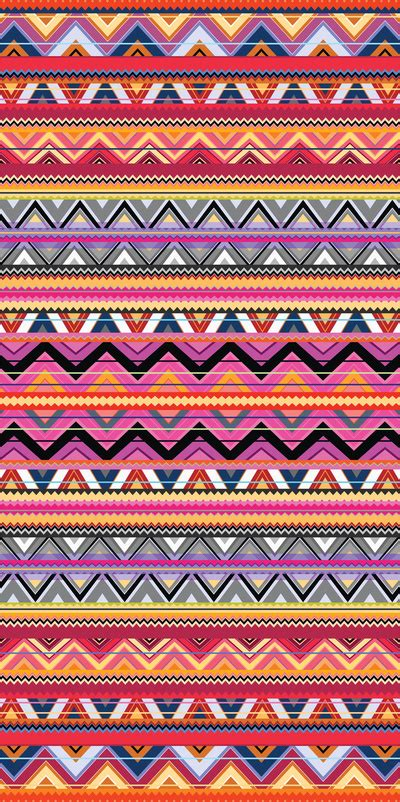 aztec colors aztec 7 print by ornaart society6 image 846214