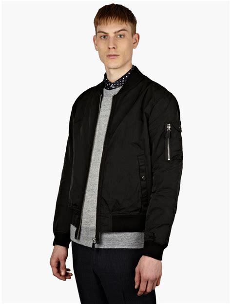 Jaket Bomber Black our legacy mens black bomber jacket in black for lyst