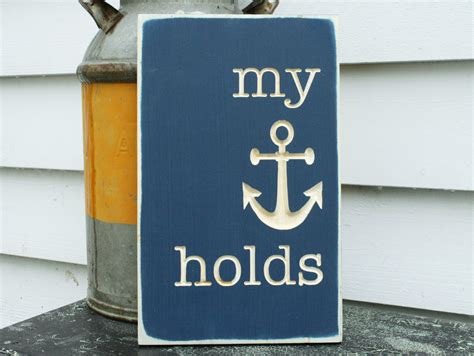 anchor bible promotion shop for promotional anchor bible my anchor holds wooden sign bible verse 10x15 carved