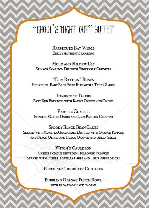 s menu ideas menu culinary crafts