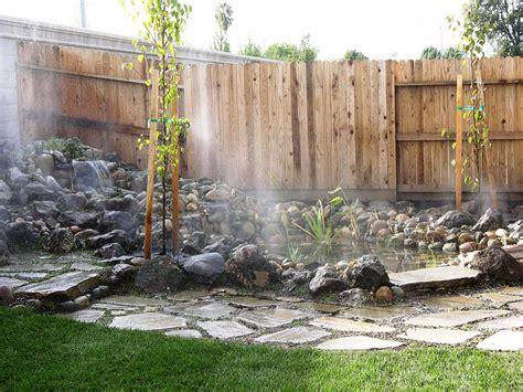 misters for backyard 100 backyard misting system 40 u0027 high pressure misting