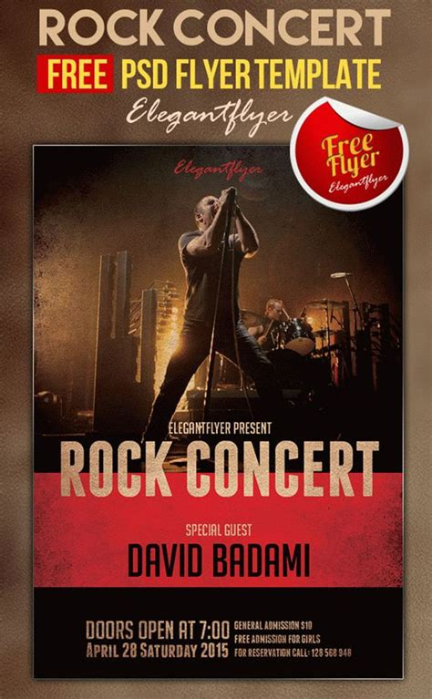 65 Concert Flyer Templates Free Psd Vector Png Eps Ai Downloads Free Concert Flyer Template Psd