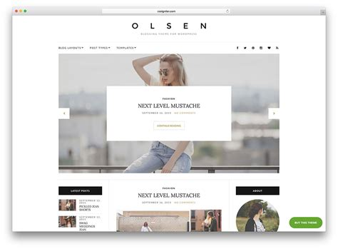 best blog designers 40 best personal blog wordpress themes 2018 colorlib
