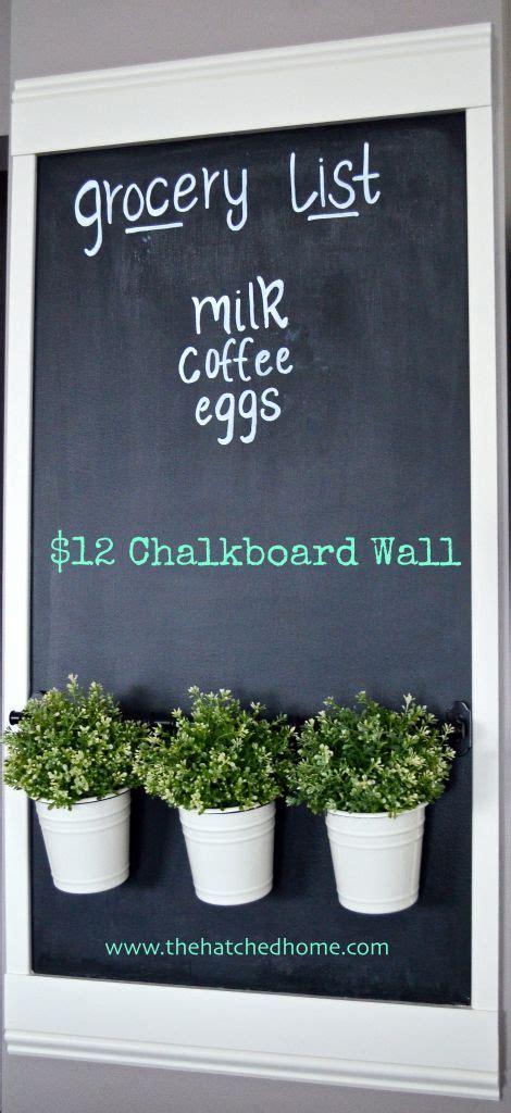 chalkboard paint ideas garden 25 best ideas about kitchen chalkboard walls on
