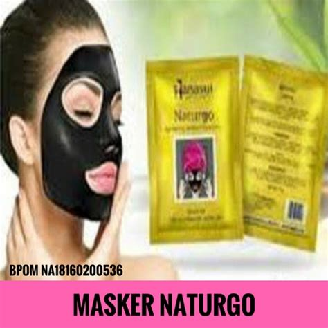 Masker Naturgo by Masker Gold Hanasui Masker Perawatan Wajah Khusus Anti Aging