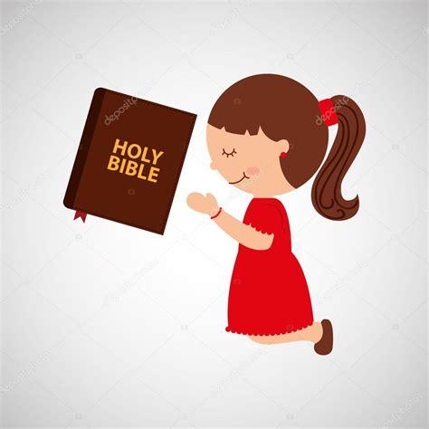 imagenes de niños orando a dios chica de dibujos animados orando con el dise 241 o de la santa