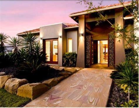 kreasi taman minimalis depan rumah