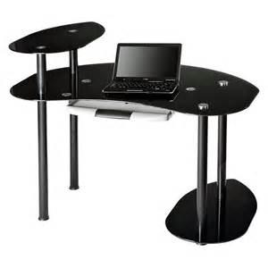 black glass desk black glass computer desk at hayneedle