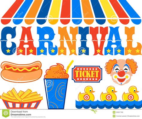 carnival sign clipart