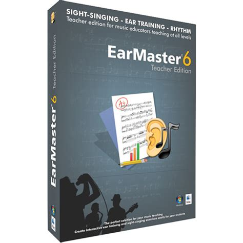 Earmaster Pro 6 By Today Learners earmaster earmaster pro 6 sight singing and ear em11122 b h