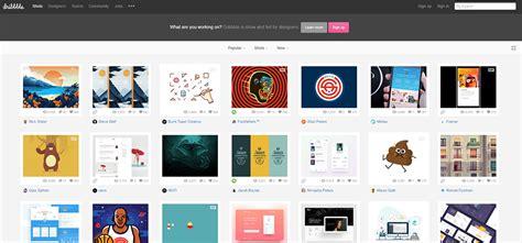 design inspiration dribbble 10 best resources for mobile app design inspiration
