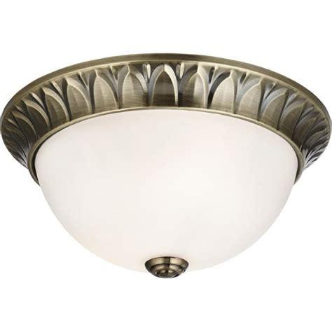 searchlight 4148 28ab 2 light flush ceiling light