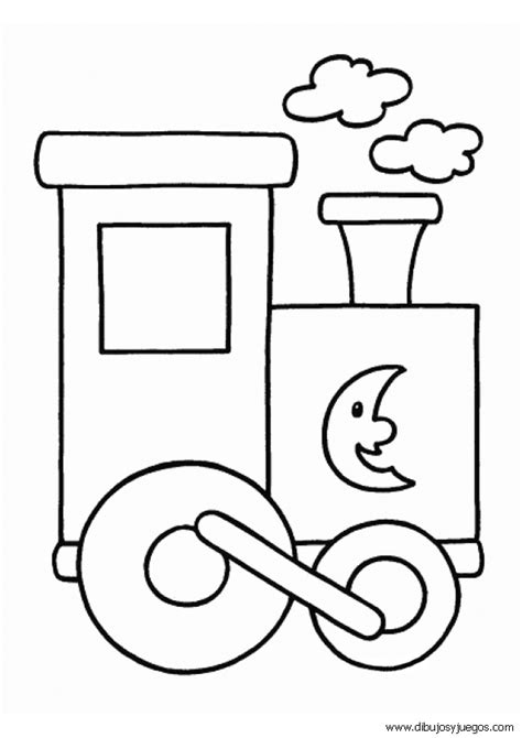 imagenes para colorear un tren un tren para dibujar imagui