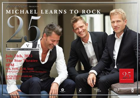 Cd Michael Learns To Rock 25 Th Anniversary Played On Pepper 25 live in singapore michael learns to rock