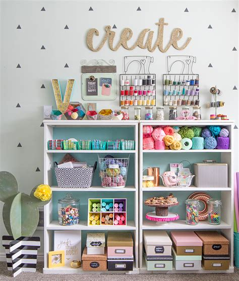 colorful room ideas colorful craft room tour thecraftpatchblog