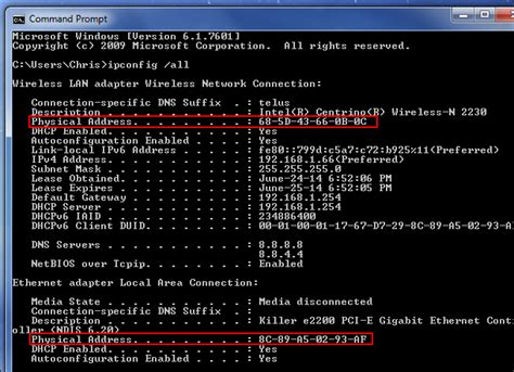 Mac Address Lookup Windows How And Why To Change Your Mac Address On Windows Linux And Mac