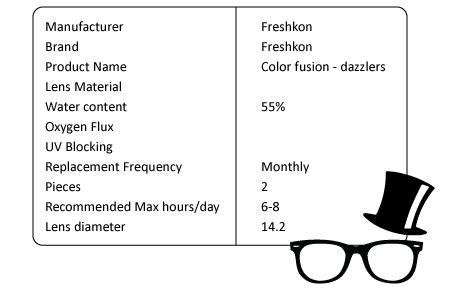 Freshkon Color Fusion Monthly freshkon 174 color fusion monthly dazzlers eyoptical