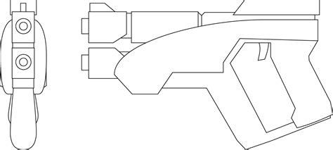 template after effects gun m 3 predator pistol build eva mass effect