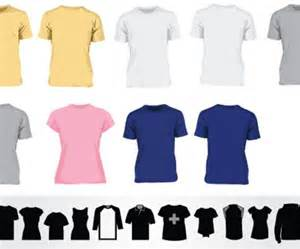 vector tshirt template 41 blank t shirt vector templates free to