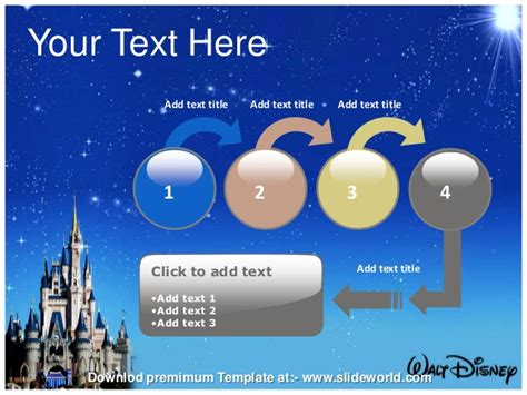 Disney World Powerpoint Template Disney Powerpoint Template Free