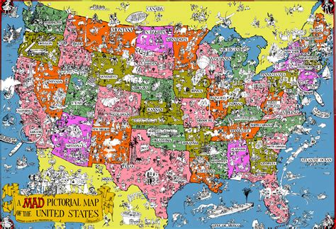 maps of the usa with states geography maps esl resources
