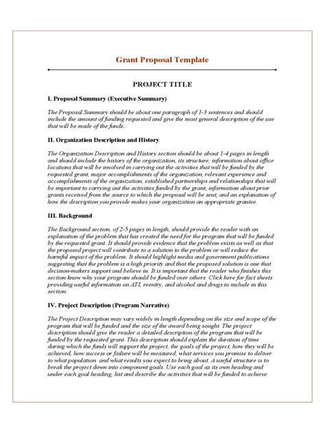 proposal layout template project proposal template 10 free templates in pdf word