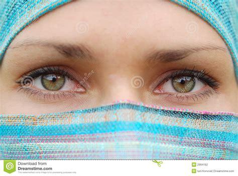imagenes ojos mujeres arabes mujeres 225 rabes fotograf 237 a de archivo imagen 2994162
