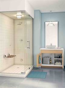 yes you can a steam shower in a small space from