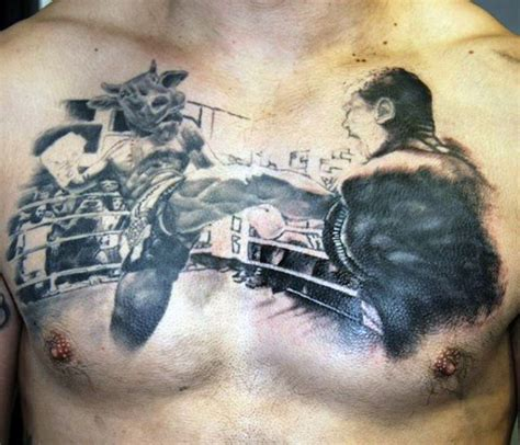 40 boxing tattoos for men a gloved punch of manly ideas
