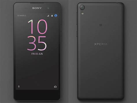 mobile sony xperia e sony accidentally reveals xperia e5 on