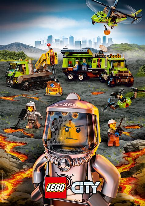 Plakat Lego by Exploradores Equipo De Volcan 243 Logos P 243 Sters