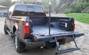 Truck Steps Ford 2009 Ford F250 Duty Rear Tailgate Step Photo 5