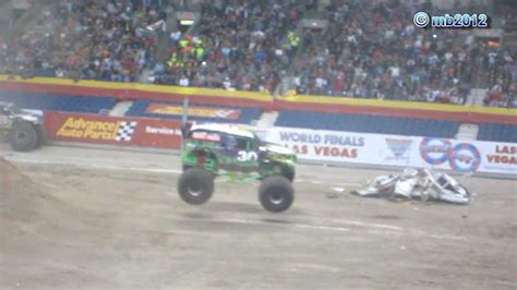 monster truck show san antonio tx grave digger freestyle crash monster jam alamodome san