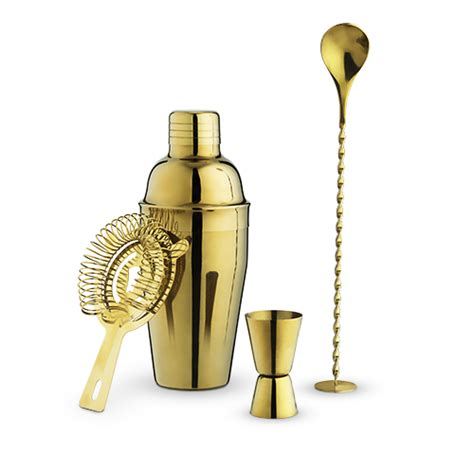 barware set gold barware set by true elegant gifts