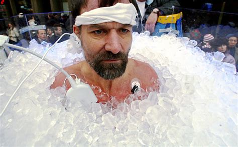 ice bathtub wim hof method explained benefits of cold exposure