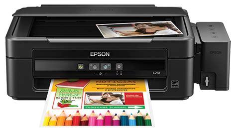 Printer Epson L210 Multifungsi jual printer multifungsi epson l210 harga murah tasikmalaya oleh klik media teknologi