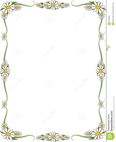 images of borders border stock vector image of border blossom