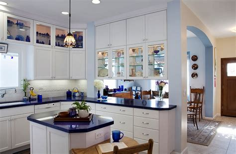 Cobalt Blue Kitchen Canisters 24 Tiny Island Ideas For The Smart Modern Kitchen