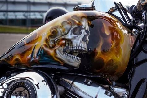 My King 180x200 Light Brown Sprei Seprai Sprai Sepray harley davidson custom gas tanks skulls totally rad