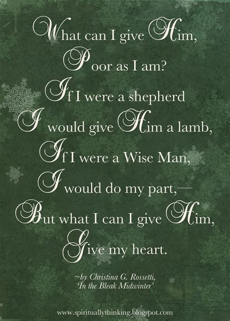 what can i give my for and spiritually speaking what can i give him