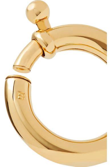 Gold Tone Ear Cuff balenciaga gold tone ear cuff net a porter