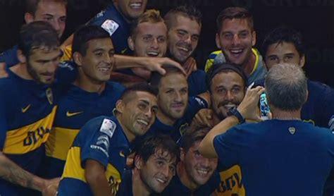 daniel osvaldo refuerzo boca 2016 todos sus goles en la celebraci 243 n de los jugadores de boca juniors invictos