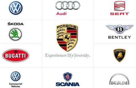 volkswagen subsidiaries list brand track brands at volkswagen