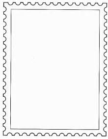 Postage St Template by Elementary Methods Real Edition Veterans Day
