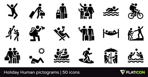 icon design creating pictograms with purpose holiday human pictograms 50 free icons svg eps psd png