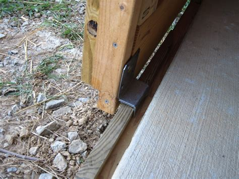 Securing A Sliding Glass Door Securing The Bottom Of A Pair Of Sliding Barn Doors Page 4